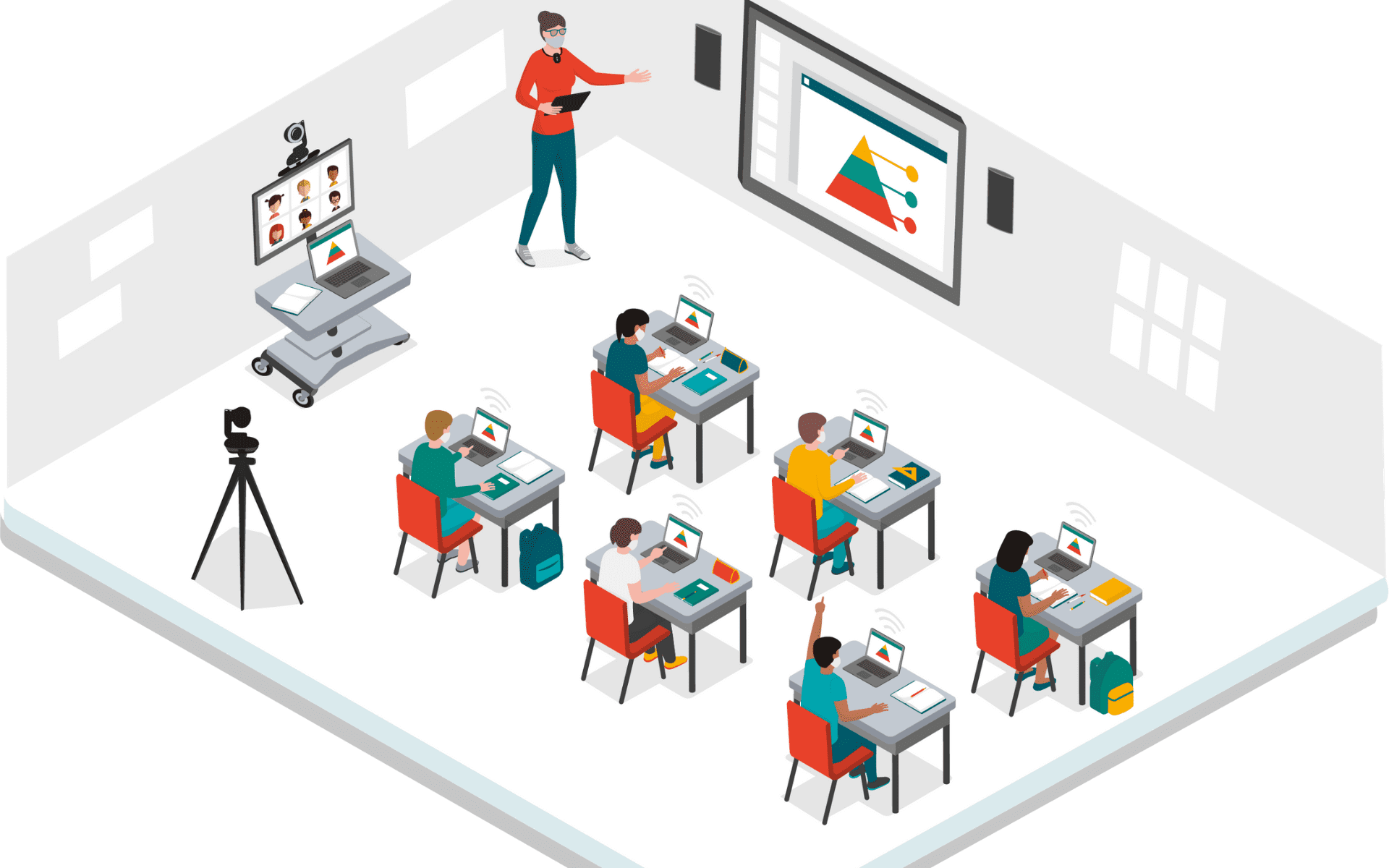 4 IT Learning Necessities for Hybrid Learning in Classrooms